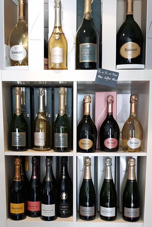 Champagnes caviste à Bandol